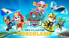 Paw Patrol the puppies take off | Patrulha Canina os filhotes decolam #002