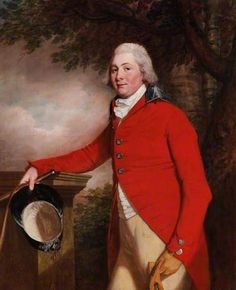 John Hungerford Penruddock (1770-1841), MP, DL, of Compton Chamberlayne-Thomas Beach. At Clandon Park (National Trust).
