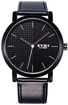 [$13.59 save 89%] Amazon Lightning Deal 79% claimed: Voeons Men's Watches Black Leather Strap Quartz Casual Watch #LavaHot http://www.lavahotdeals.com/us/cheap/amazon-lightning-deal-71-claimed-voeons-mens-watches/137910