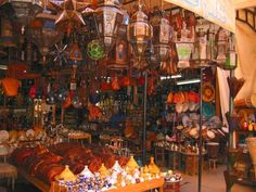 Why we opt for malls over souks, I will never get.