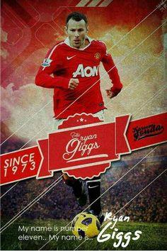 #ManchesterUnited Legends - Ryan Giggs #11