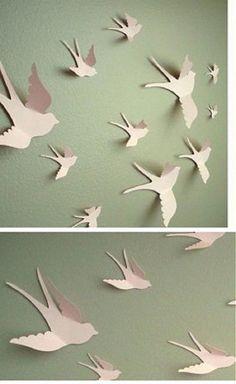 malushka33 / 3D birds & 75 3D Bird Wall Art | Pinterest | Bird wall art 3d and Bird