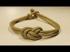 """""""How You Can Make An Elegant Infinity Knot Paracord Bracelet"""" WhyKnot - YouTube"""