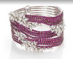 Ruby & Diamond Bracelet by S.Hafner!