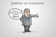 #VIGNETTA: #Omofobia con emendamento
