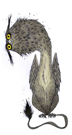 GRIFFINS SKETCHES by Olivier SILVEN, via Behance
