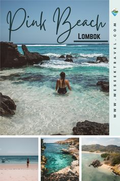 Located on the southeast corner of Lombok is a natural phenomenon known as Pink Beach Lombok, or Tangsi Beach. Apparently, there are only a handful (the exact number seems a little sporadic) of pink sand beaches in the world, a few of which are in Indonesia.