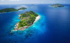 Felicite and Sister Islands, ilhas do arquipélago de Seychelles