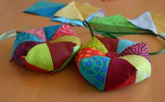 Maryandpatch, patchwork ornements how to