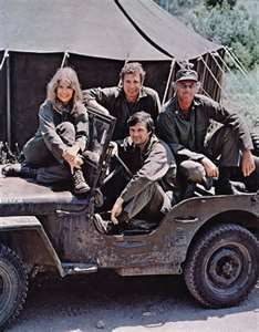 Mash, and a Willys Jeep Mash Tv, Mash Cast, Great Tv Shows, Classic Tv, Timeless Classic, Jeep Life, The Good Old Days, American Actors, Clipart