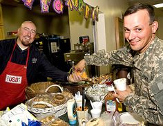 USO Wishbook A Special Treat - Help provide the food that tells our troops and their families that you're there for them, abroad and at home.