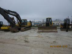 John Deere contruction equipment r-l:60G.750J,350D LC