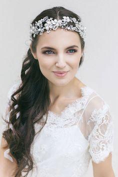 Bridal Hair Accessories  Wedding Floral by LavenderByJurgita