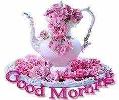 good morning animated glitter graphics   Glitter Text » Greetings » Good Morning