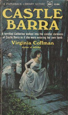Castle Barra Virginia Coffman Paperback Library 1966 vintage gothic good cond