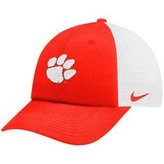 87915da9918 Nike Clemson Tigers Orange White Trucker Adjustable Performance Hat is  available now at FansEdge.