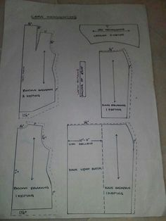 Cara menggunting kebaya Kebaya Hijab, Batik Kebaya, Batik Dress, Sewing Hacks, Sewing Tutorials, Tutorial Sewing, Sewing Ideas, Sewing Projects, Kebaya Kutu Baru Modern
