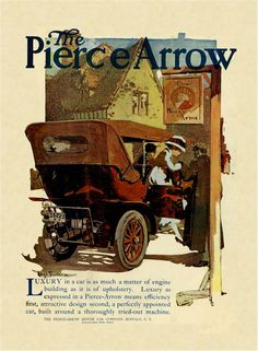 Pierce Arrow Advert