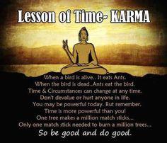 So be good...