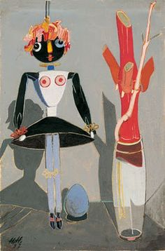 Hannah Höch, The Puppet Balsamine, 1927