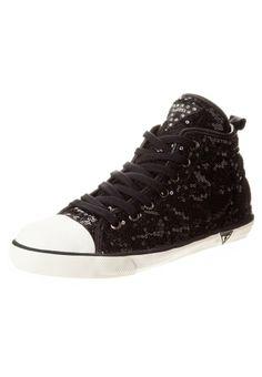 Guess - JODENE - Sneakers hoog - Zwart