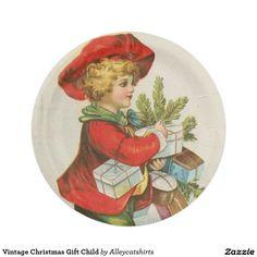 Vintage Christmas Gift Child
