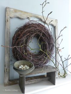 # Decorate Christmas tree decorations # Decorate Christmas tree decorations # Decorate Christmas tree decorations You are in the right place about DIY Wreath welcome Here we offer you the most beautif Diy Spring Wreath, Diy Wreath, Flower Crafts, Flower Art, Hobbies And Crafts, Diy And Crafts, Rama Seca, Paint Paint, Decoration Inspiration