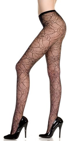 Spiderweb Spandex Pantyhose [50010] - $7.99 : Mystic Crypt, the most unique, hard to find items at ghoulishly great prices!