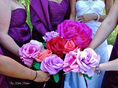Diy gorgeous bridal party bouquets