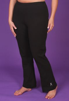 These ultra comfortable and relaxed fit plus size yoga pants are perfect for everyone and every activity. For your yoga workout or to walk, dance, run and step. Stylishly cut for a woman's figure wit