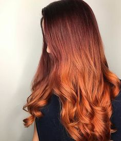 This pumpkin spice is anything but basic. Color by @xoannachung. #modernsalon