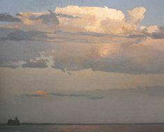 "iamjapanese: ""Peter Rotter After the Storm  via Thunderhead Oil on Canvas via Whale Island Oil via """