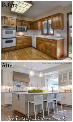 Kitchen Remodel before and after Best Of before & after Home Renovation with Home Bunch Home Design, Küchen Design, Home Interior Design, Layout Design, Design Ideas, Coastal Interior, Modern Interior, Diy Kitchen, Kitchen Decor