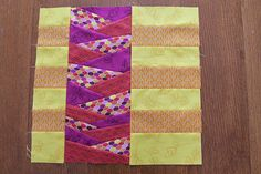 Braided Path Block Tutorial - new leaf bee block by imaginegnats, via Flickr