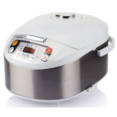 Multicooker Philips 980 W, 5 l, Programe automate, Timer, Alb/Argintiu - eMAG. Healthy Dishes, Healthy Cooking, Philips Viva Collection, Slow Cooker Kitchen, Steam Cooker, Multicooker, Heating Systems, Rice Cooker, Kitchen Appliances