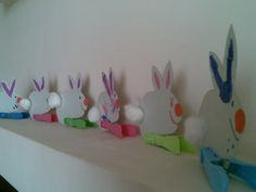 Rabbit decoration- so easy