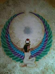 Isis Goddess, Goddess Art, Goddess Isis Tattoo, Art Visionnaire, Egyptian Tattoo, Egyptian Mythology, Egypt Art, Sacred Feminine, Tatoo Art