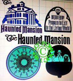 Disney Haunted Mansion MTC SVG Cut File