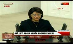 PKK'LI ZANA ????? MECLİSTE EDİYOR  NE MECLİSTE NE SARAY'DA ÇIT YOK!!! @mustafakayaTV #GünaydınTürkiye