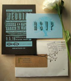 Love pretty much everything about this invitation set
