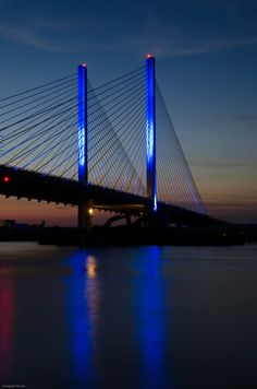 Indian River Bridge - Rehoboth Beach, Delaware.I want to go see this place one day.Please check out my website thanks. www.photopix.co.nz