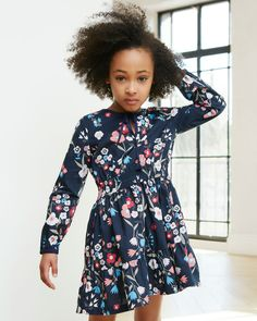 Colourful florals are a must for every little girl.