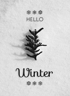 hello winter tumblr - Buscar con Google
