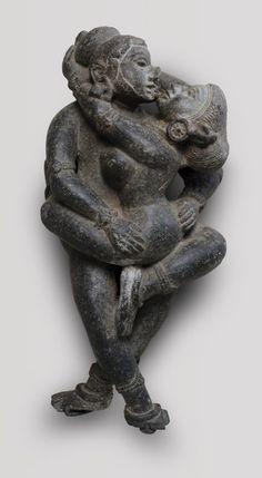 Hindu Statues, Stone Statues, Flame Art, Ancient Goddesses, India Art, Philadelphia Museum Of Art, Ancient Art, Erotic Art, Art And Architecture