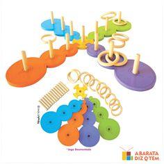 JOGO ACERTANDO O ALVO - Acertando o alvo é um jogo pedagógico de arremessar argolas para dois jogares. Ele auxilia no desenvolvimento da criatividade, coordenação motora, raciocínio lógico, concentração e habilidade de planejamento.