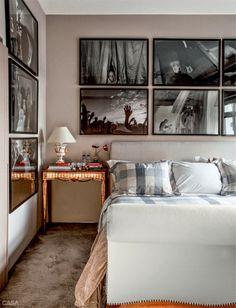 O apartamento de David Bastos em Sampa