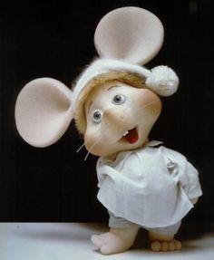Topo Gigio! aaaaaaw♥                                                                                                                                                      Más