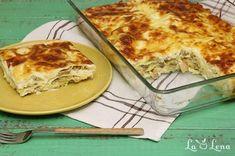 Lasagna cu pui si ciuperci - pas cu pas si POZE - LaLena.ro Lasagna, Bologna, Quiche, Mashed Potatoes, Macaroni And Cheese, Pizza, Breakfast, Ethnic Recipes, Food