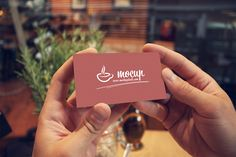 Free Business Card in Hands PSD Mockup - GraphicArmy