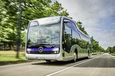 Будущее уже сегодня: автобусные инновации Mercedes-Benz и Setra